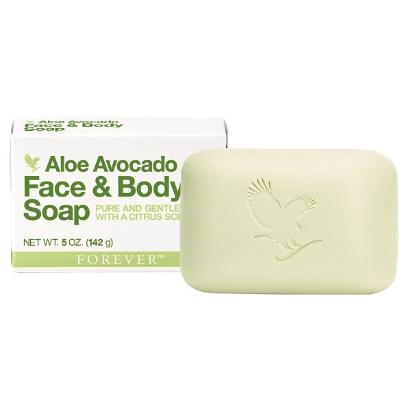 Forever Aloe Avocado Face and Body Soap – Αλόη Βέρα Σαπούνι με Avocado